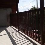 balustrada exterioara lemn