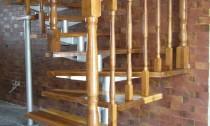 scari lemn metal