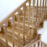 Balustrada interioara lemn stejar