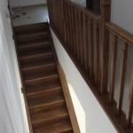 Scari interioare lemn pe suport metal