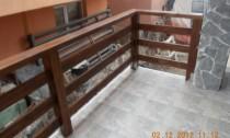 balustrada exterior lemn constanta