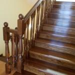 Scara lemn interior esenta stejar moderna