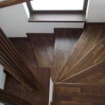 Scari interioare lemn esenta brad lux