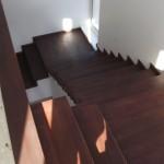 Scari lemn interior stejar pe beton