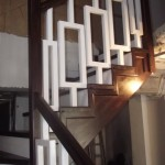 Scara interioara din lemn vanguri Constanta