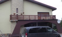 Balustrada exterioara lemn Cernavoda