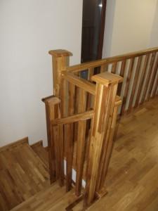Scara stejar lemn