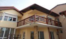 Balustrada exterior lemn Bucuresti