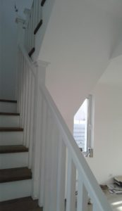 Balustrada alba Otopeni