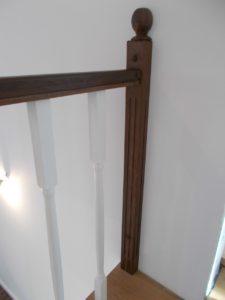Scara din lemn stejar Otopeni