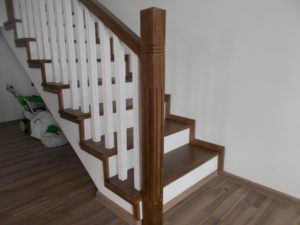 Placare scara lemn stejar