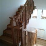 Balustrada lemn Bacau