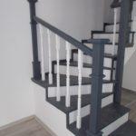 Balustrada lemn clasica