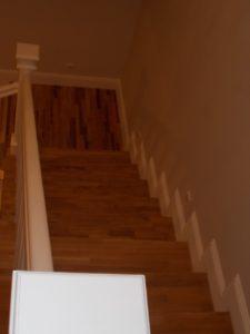 Scari lemn alba