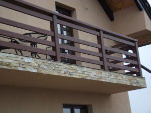 Balustrada lemn Piatra Neamt